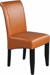 OSP Designs Eco Leather Metro Parsons Dining Chair - Coffee [MET86CF-FS-OS]
