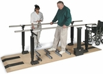 Patented Mobility Platform with Electric Height Bars - 28''W X 120''L X 29 - 44''H [HAU-1398-FS-HAUS]