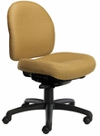 Pearl II 300 Series Small Back Single Shift Adjustable Swivel and Seat Height Task Chair [PE212-M20-FS-SEA]