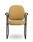 Pearl II 300 Series Sled Base Guest Chair with Arms [PE234-FS-SEA]