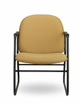 Pearl II 400 Series Sled Base Guest Chair with Arms [PE334-FS-SEA]