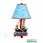 Pirate Table Lamp [G83707-FS-GUI]