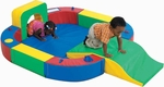 Play ring with Tunnel and Slide [CF322-162-FS-CHF]