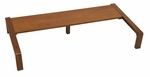 Ponderosa Solid Wood 6.25''H Leg Height Extension - Sonoma Brown [13284-FS-SDI]