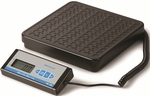 Black Portable Bench Scale with Large Push Buttons - 11.88''W X 12.38''D X 2.25''H [PS150-SALB]
