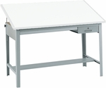 Precision 56.5'' W x 35.5'' H Drafting Table Base - Gray [3962GR-SAF]