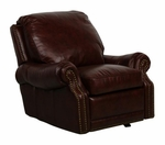 Premier All Leather Power Recliner - Stetson Coffee [9-6600-5407-41-FS-BAR]