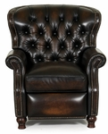 Presidential All Leather Power Recliner - Stetson Coffee [9-4148-5407-41-FS-BAR]