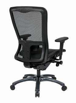 Pro Line II ProGrid Mesh High Back Office Chair With Adjustable Arms And Lum