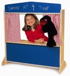 Puppet Theater with Colorful Stage and Write and Wipe Board on Front [WB0965-FS-WBR]