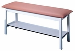 Quality Line Treatment Table with Storage Shelf - 27''W X 72''L X 31''H [HAU-4024-027-FS-HAUS]