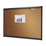 Quartet Bulletin Board - 3' x 2' - Graphite Frame [QRTB243G-FS-SP]
