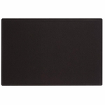 Quartet Fabric Bulletin Board -Frameless -Hardware Incld. -4' x 3' -Black [QRT7684BK-FS-SP]