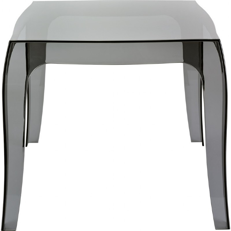 queen outdoor polycarbonate stacking square side table