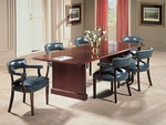 Bedford Traditional Rectangular Conference Table with Straight Legs [TR-T72-FS-HPF]