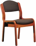 Quick Ship Corbel Armless Stacking Side Chair [992-HPF]