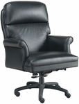 Quick Ship Leader Executive Chair with Fully Upholstered Arms and Spider Base [191-FS-HPF]