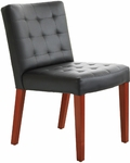 Quick Ship Leader Executive Square-Pattern Stitched Side Chair [144-FS-HPF]