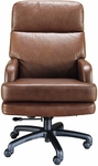 Quick Ship Leader Executive Swivel Chair with Spider Base [121-FS-HPF]