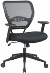 Quick Ship NexStep Management Chair with Mesh Back and Fabric Seat [752-FS-HPF]