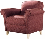 Quick Ship Scarlet Club Chair [6301-FS-HPF]