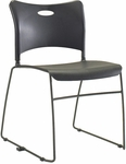 Quick Ship Stax Plastic Stacking Chair [723-HPF]