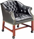 Quick Ship Traditional Series Tufted Conference Chair [4076-FS-HPF]