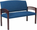 Quick Ship Trados Healthcare Two-Seater Settee [916-FS-HPF]