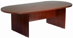 71''W x 35''D Racetrack Conference Table - Mahogany [N135-M-FS-BOSS]