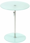 Radinka Side Table in Frosted Glass [21190-FS-ERS]