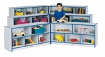 Rainbow Accents Super-Sized Fold-n-Lock Storage Unit [0369JCWW003-JON]