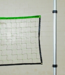 Recreational Volleyball Net with Fluorescent Top - 384''W x 36''H [SVB08-FS-BIS]