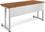 24'' D x 60'' W Modular Desk and Worktable - Cherry [55218-CHY-MFO]