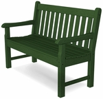 POLYWOOD® Rockford 48'' Bench - Green [RKB48GR-FS-PD]