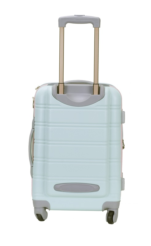 Rockland Melbourne 20 Expandable Abs Carry On Mint