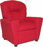 Kids Home Theatre Recliner with Cupholder - Rodeo Chili [401C-RODEO-CHILI-FS-BZ]