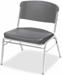 Rough N Ready 350 lb. Capacity Big &#38 Tall Stack Chair - Set of Four - Charcoal [64127-ICE]