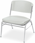 Rough N Ready 350 lb. Capacity Big &#38 Tall Stack Chair - Set of Four - Platinum [64123-ICE]