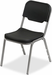 Rough N Ready Stack Chair - Set of Four - Black [64111-ICE]