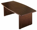 Customizable Rectangular American Conference Table - 30''W x 60''D x 30''H [PT-619-BKS]