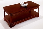 Rue De Lyon Coffee Table - Ruby Cabernet [7684-40-FS-DMI]