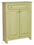 Ruth Rustic Style 60''W x 20.75''D Solid Pine Pie Safe - Celery [465-001-FS-CHEL]