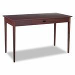 Safco® Apres Table Desk - 48w x 24d x 30h - Mahogany [SAF9446MH-FS-NAT]