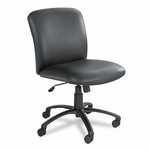 Safco® Uber Series Big & Tall Swivel/Tilt Mid Back Chair - Vinyl - Black [SAF3491BV-FS-NAT]