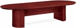Saratoga 10' Racetrack Conference Table - Pinot Cherry [7140-120-FS-DMI]