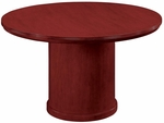 Saratoga 48'' Round Conference Table - Pinot Cherry [7140-90-FS-DMI]