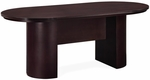 Saratoga 6' Racetrack Conference Table - Mocha [7141-72-FS-DMI]