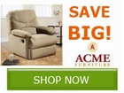 Save 10% of ALL ACME Furniture by