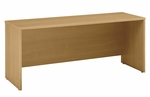 Series C 72'' W x 24'' D Credenza Shell - Light Oak [WC60326-FS-BBF]