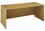 Series C 72'' W x 30'' D Desk Shell - Light Oak [WC60336-FS-BBF]